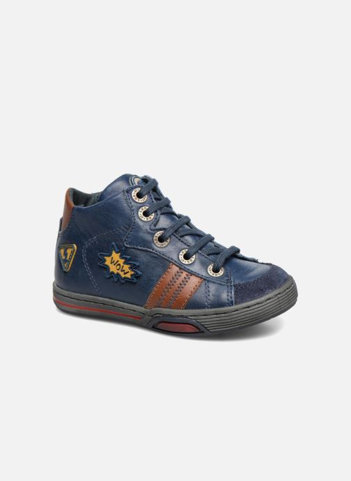 Sneakers Little Mary Cooper Blauw detail