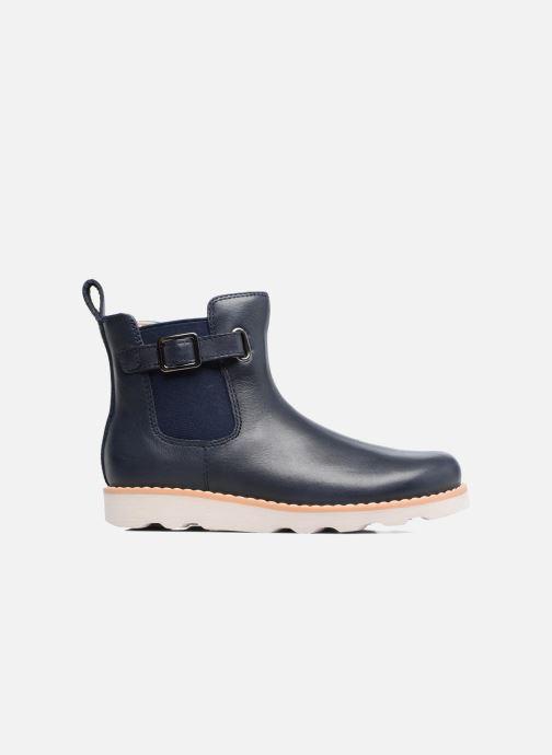 Bottines et boots Clarks Crown Art Inf Bleu vue derrière