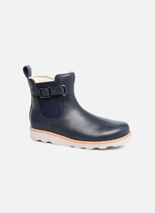 Bottines et boots Clarks Crown Art Inf Bleu vue détail/paire