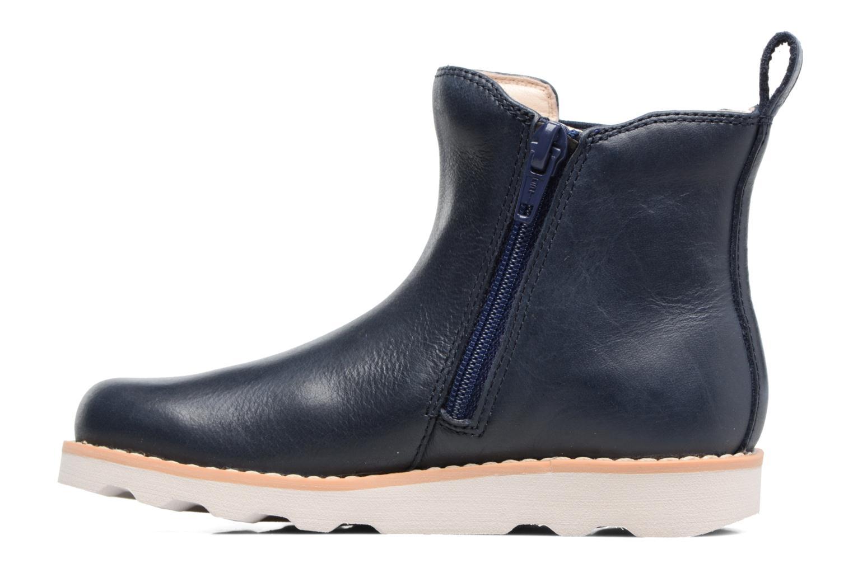 Boots en enkellaarsjes Clarks Crown Art Inf Blauw voorkant