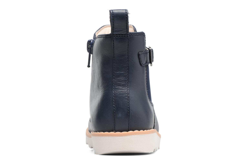 Boots en enkellaarsjes Clarks Crown Art Inf Blauw rechts