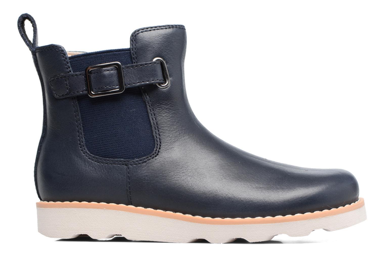 Boots en enkellaarsjes Clarks Crown Art Inf Blauw achterkant