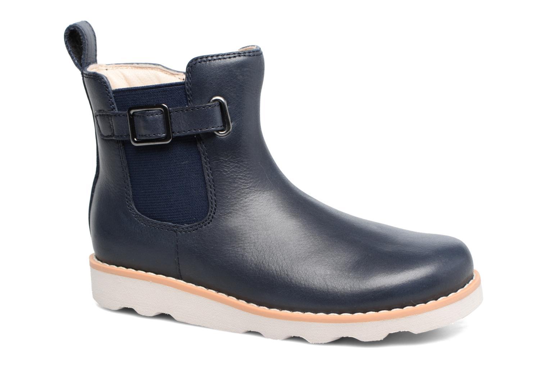 Boots en enkellaarsjes Clarks Crown Art Inf Blauw detail