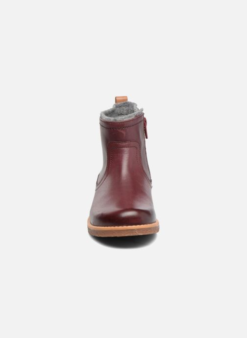 Ankle boots Clarks Tildy Moe Burgundy model view