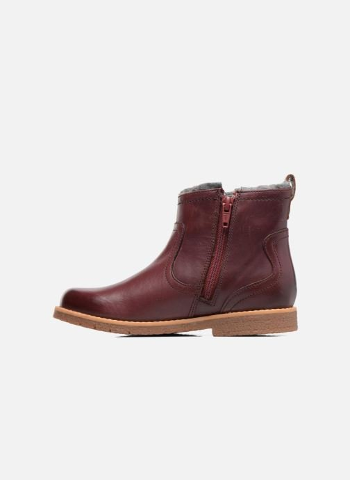 Ankle boots Clarks Tildy Moe Burgundy front view