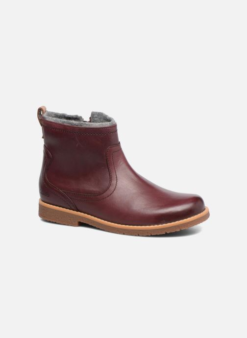 Ankle boots Clarks Tildy Moe Burgundy detailed view/ Pair view