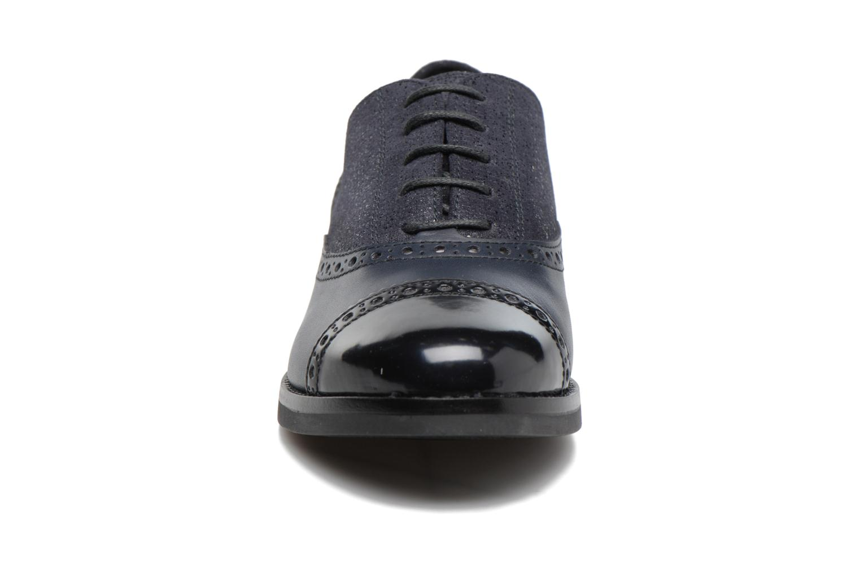 Chaussures à lacets Geox D Promethea A D54R3A Bleu vue portées chaussures