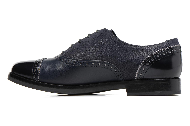 Chaussures à lacets Geox D Promethea A D54R3A Bleu vue face