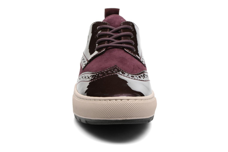 Baskets Geox D Breeda B D742QB Bordeaux vue portées chaussures