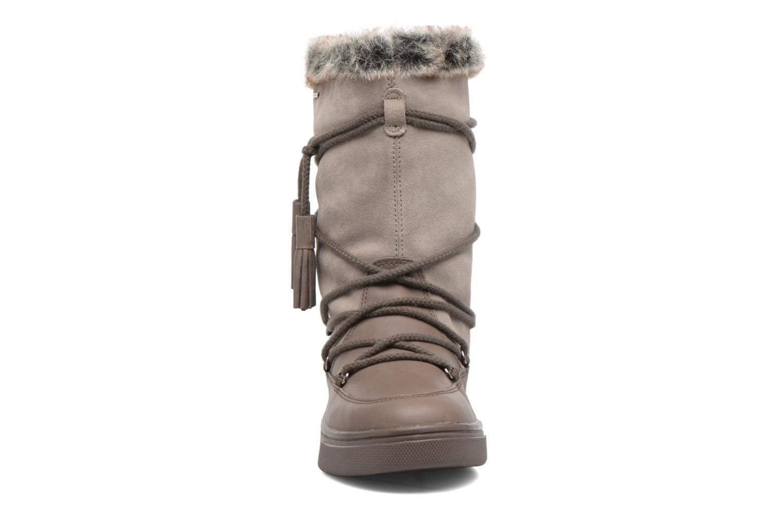 Bottes Geox D Mayrah B Abx A D743MA Marron vue portées chaussures