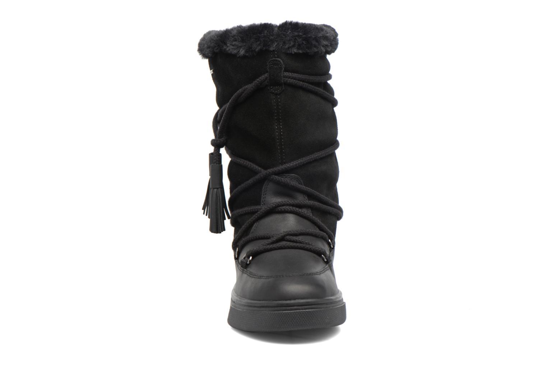 Bottes Geox D Mayrah B Abx A D743MA Noir vue portées chaussures