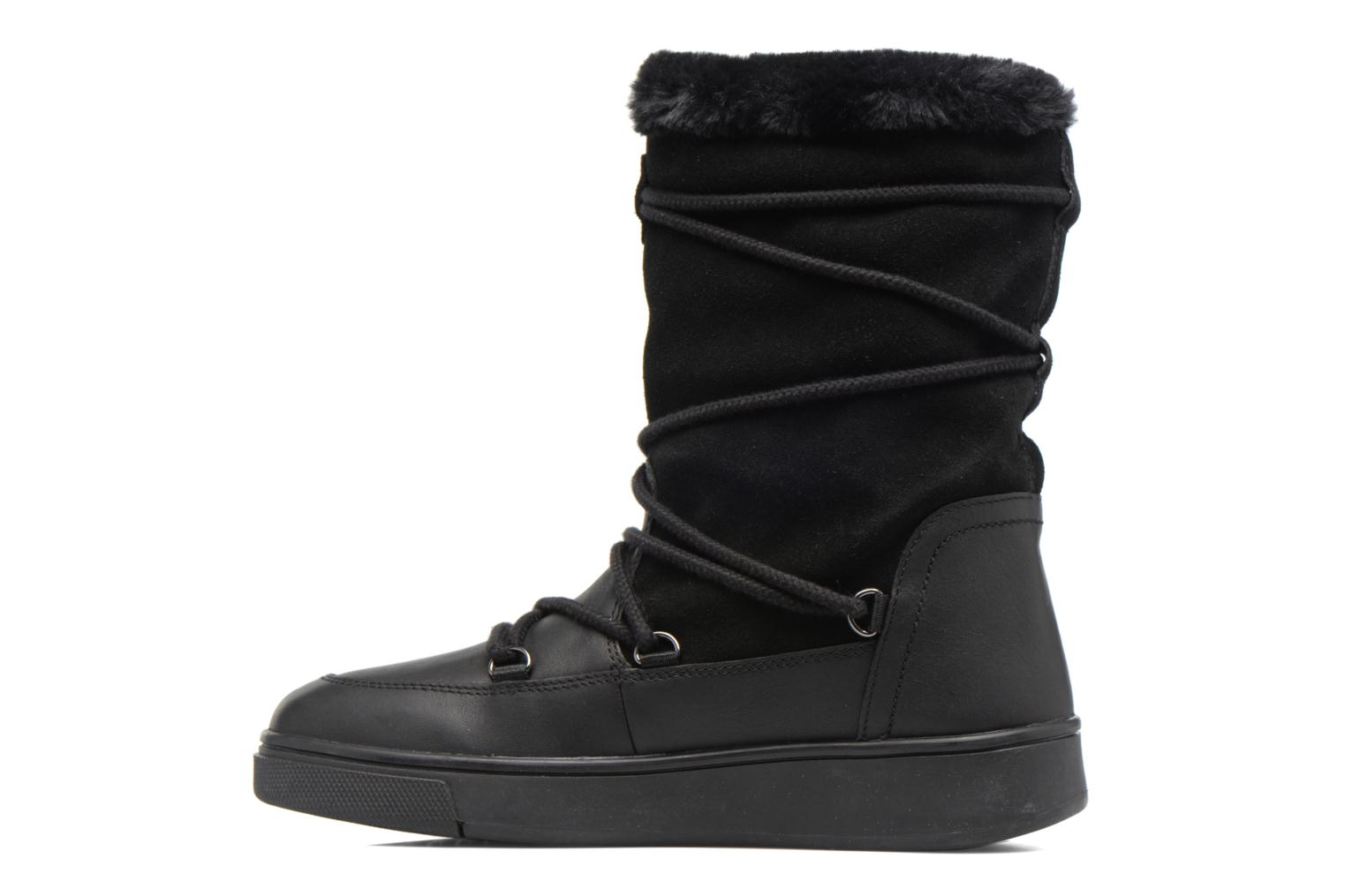Boots & wellies Geox D Mayrah B Abx A D743MA Black front view