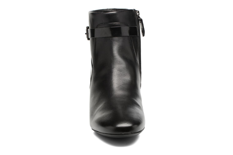 Bottines et boots Geox D Audalies M.B D743YB Noir vue portées chaussures