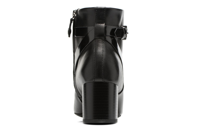 Bottines et boots Geox D Audalies M.B D743YB Noir vue droite