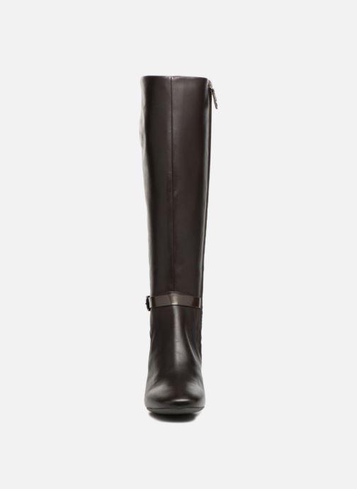 Boots & wellies Geox D Audalies M.C D743YC Brown model view