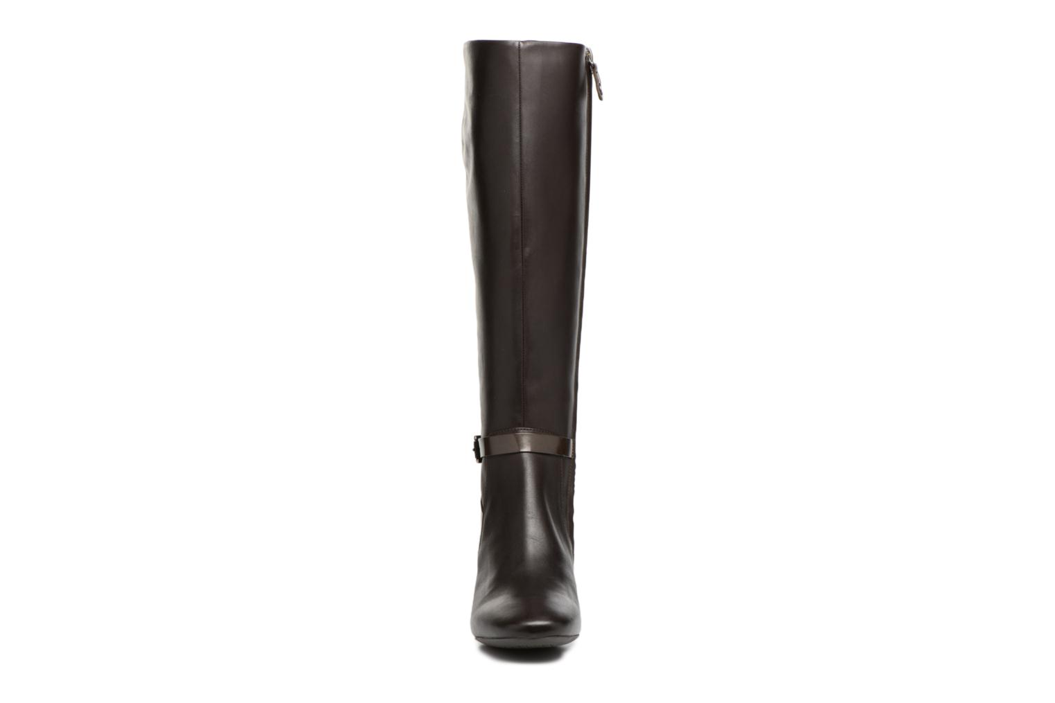 Boots & wellies Geox D Audalies M.C D743YC Brown model view