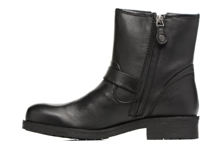 Boots en enkellaarsjes Geox D New Virna E D7451E Zwart voorkant