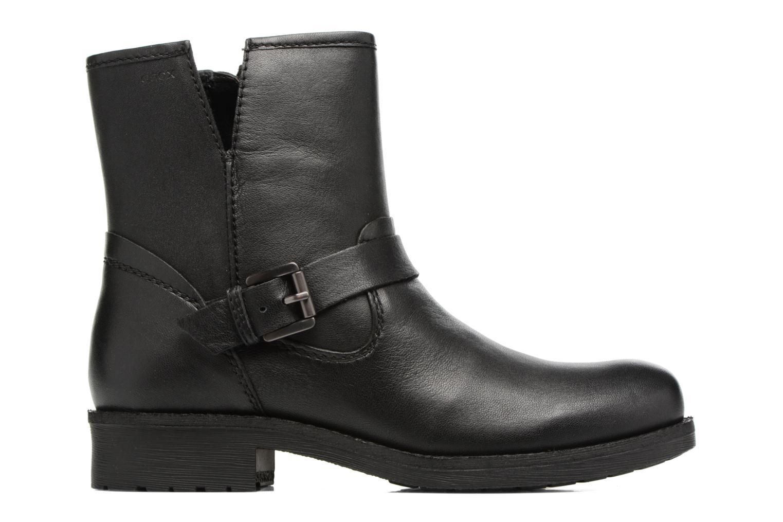 Boots en enkellaarsjes Geox D New Virna E D7451E Zwart achterkant