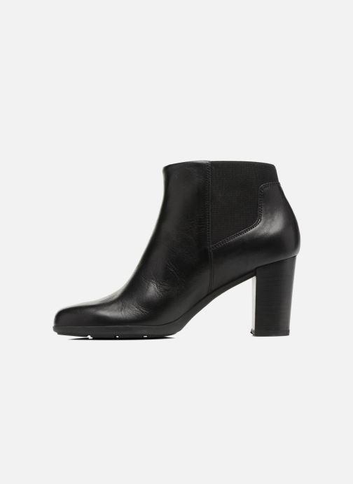 Bottines et boots Geox D Annya B D745FB Noir vue face