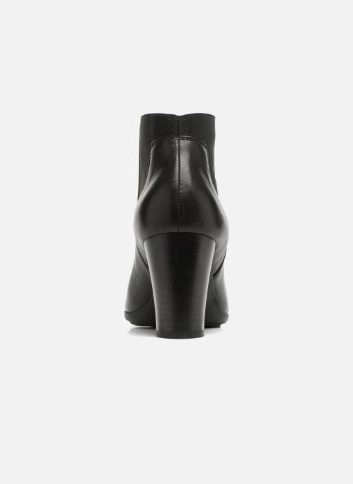 Bottines et boots Geox D Annya B D745FB Noir vue droite