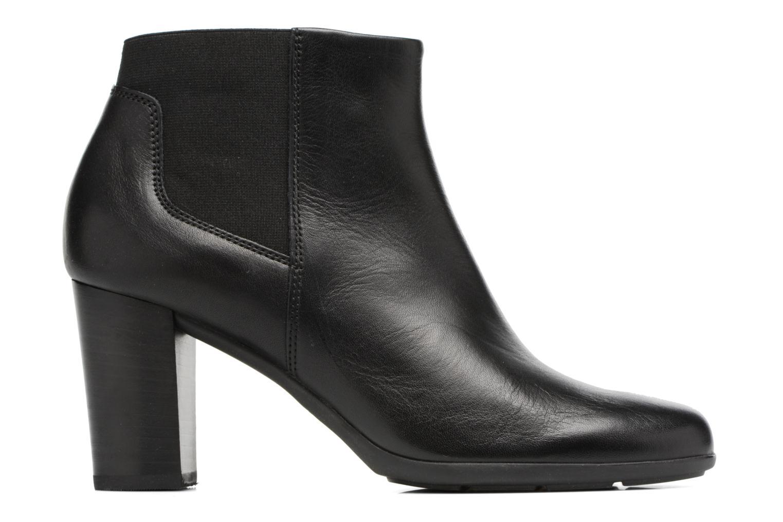 Bottines et boots Geox D Annya B D745FB Noir vue derrière