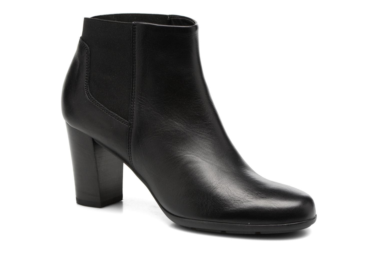 Bottines et boots Geox D Annya B D745FB Noir vue détail/paire