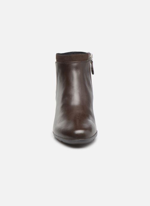 Bottines et boots Geox D Annya M. A D745VA Marron vue portées chaussures