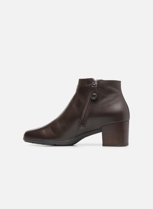 Bottines et boots Geox D Annya M. A D745VA Marron vue face