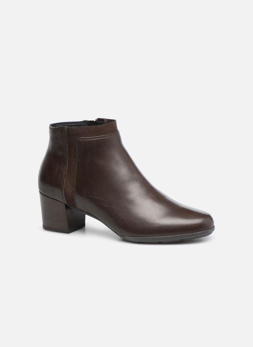 Bottines et boots Geox D Annya M. A D745VA Marron vue détail/paire