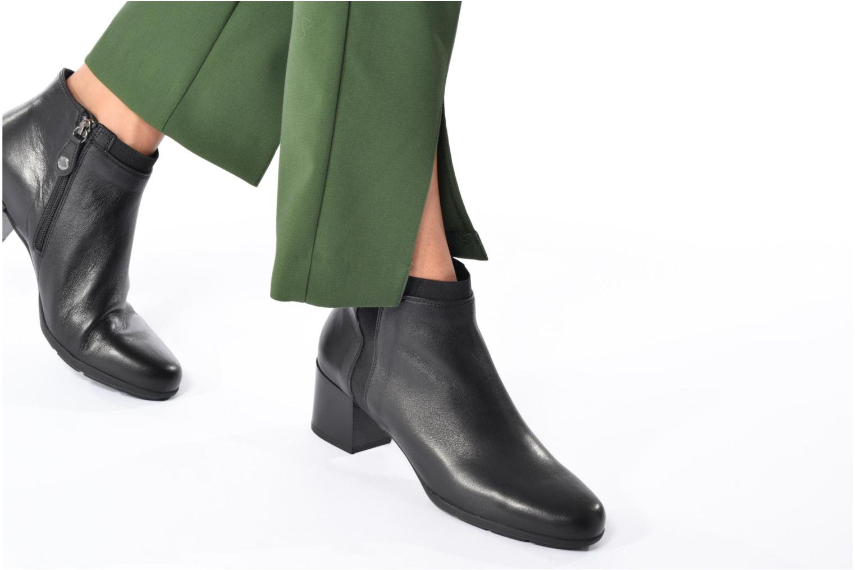 Bottines et boots Geox D Annya M. A D745VA Noir vue bas / vue portée sac