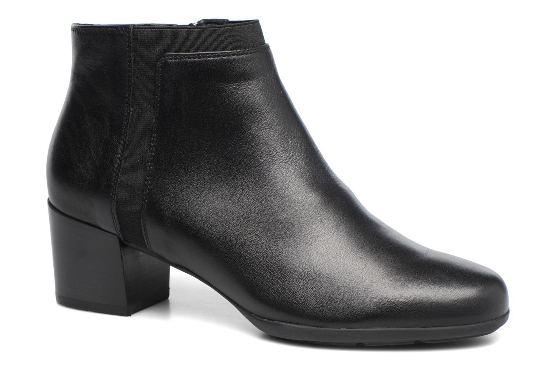 Bottines et boots Geox D Annya M. A D745VA Noir vue détail/paire