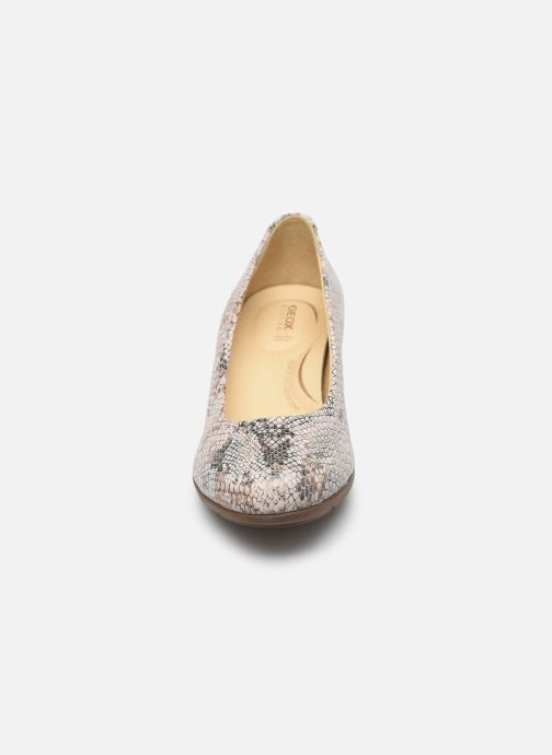 Escarpins Geox D Annya M.B D745VB Blanc vue portées chaussures