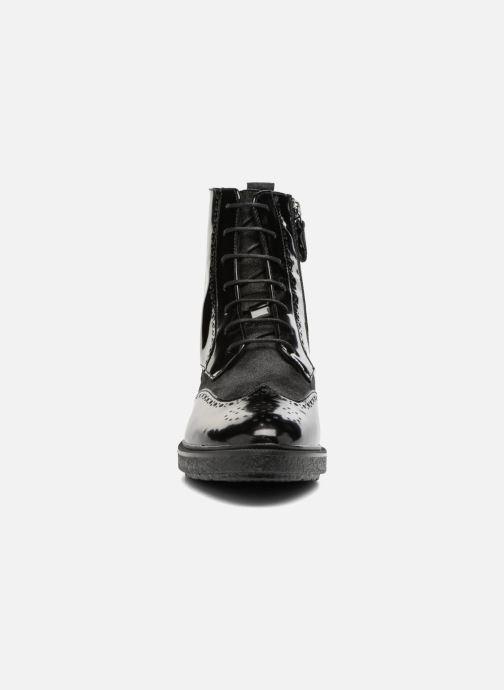 Bottines et boots Geox D Prestyn A D745WA Noir vue portées chaussures