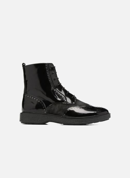 Bottines et boots Geox D Prestyn A D745WA Noir vue derrière