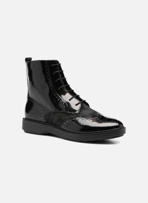 Bottines et boots Geox D Prestyn A D745WA Noir vue détail/paire