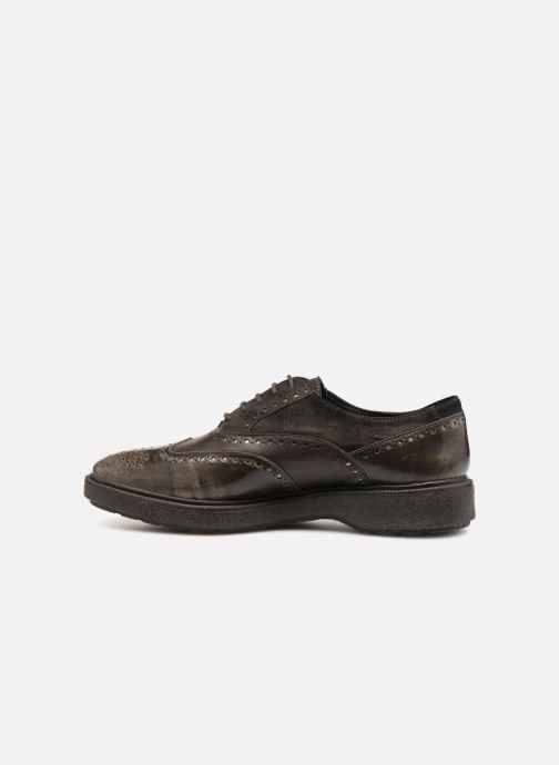 Zapatos con cordones Geox D Prestyn B D745WB Marrón vista de frente