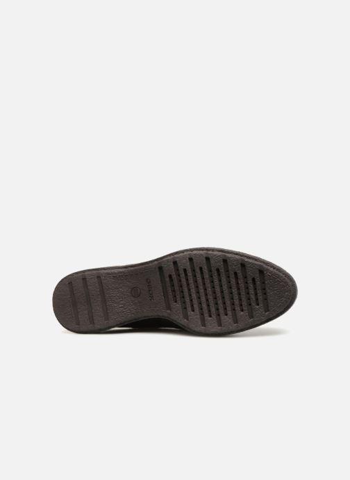 Zapatos con cordones Geox D Prestyn B D745WB Marrón vista de arriba