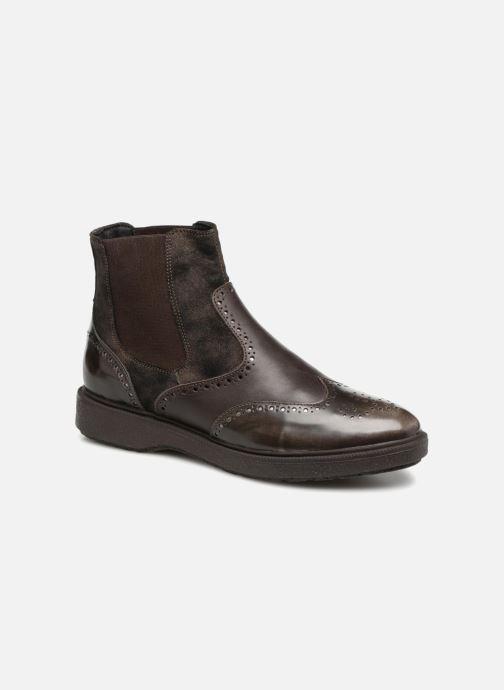 partícipe Ciudadanía Adjuntar a  Geox D Prestyn D D745WD (Brown) - Ankle boots chez Sarenza (349992)