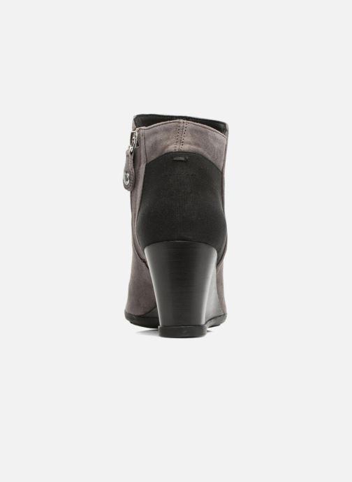 Bottines et boots Geox D Inspirat.Wed C D745ZC Gris vue droite