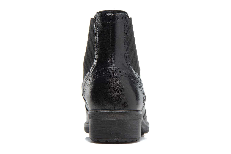 Boots en enkellaarsjes Geox D Ettiene B D746BB Zwart rechts