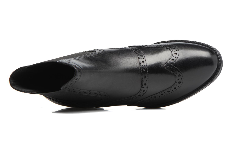 Boots en enkellaarsjes Geox D Ettiene B D746BB Zwart links