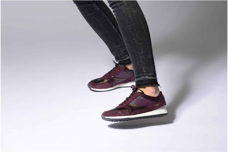 Sneakers Geox D Deynna E D746FE Paars onder