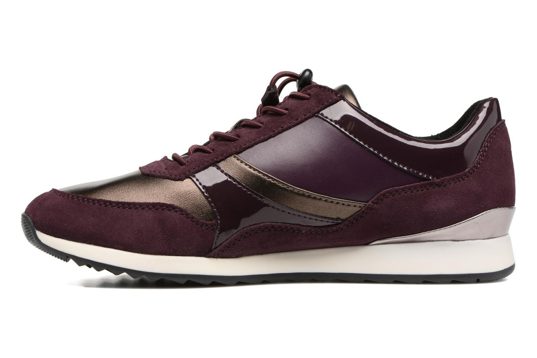 Sneakers Geox D Deynna E D746FE Paars voorkant