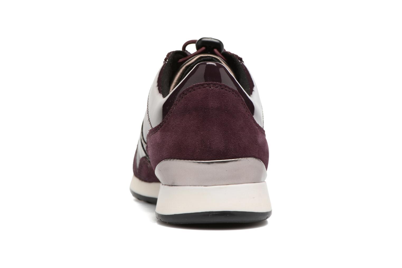 Sneakers Geox D Deynna E D746FE Paars rechts