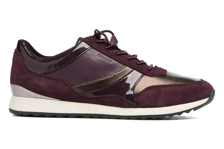 Sneakers Geox D Deynna E D746FE Paars achterkant