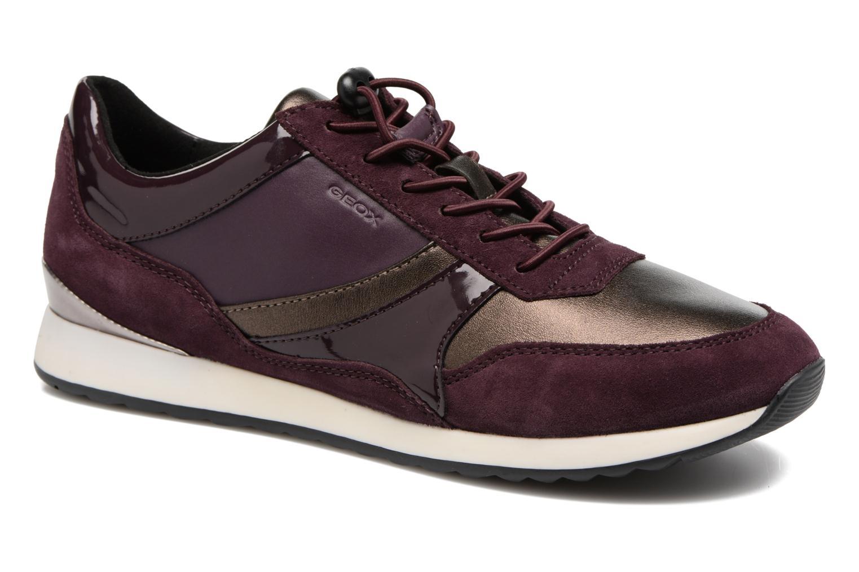 Sneakers Geox D Deynna E D746FE Paars detail