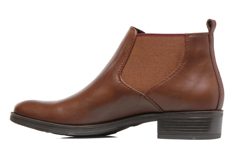 Bottines et boots Geox D Mendi Np Abx A D746SA Marron vue face