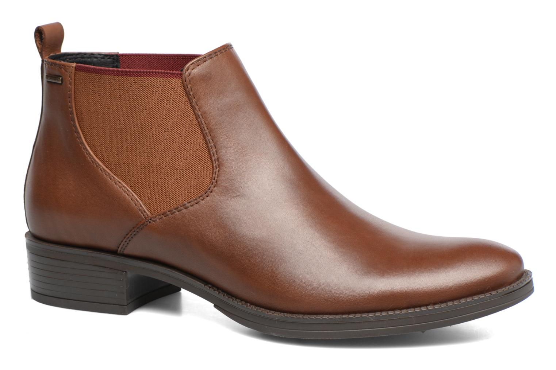 Bottines et boots Geox D Mendi Np Abx A D746SA Marron vue détail/paire