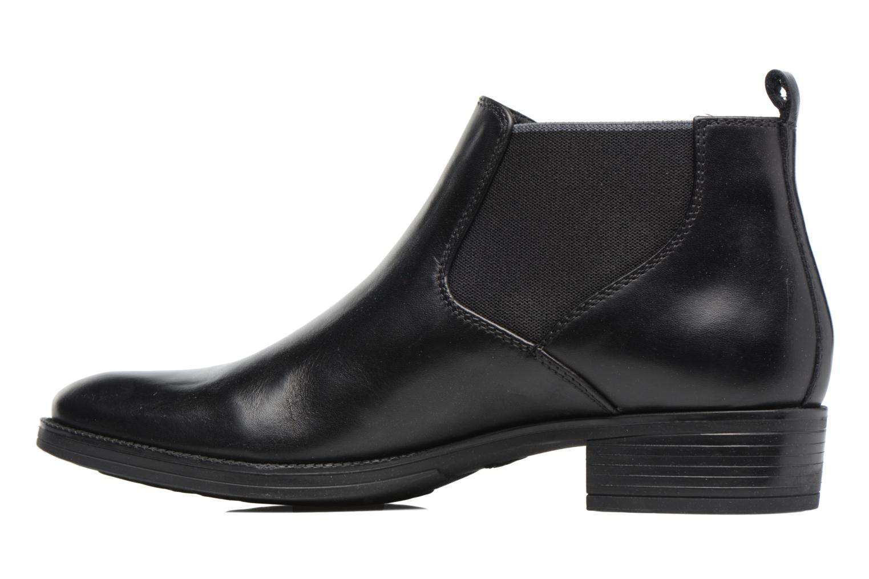 Bottines et boots Geox D Mendi Np Abx A D746SA Noir vue face
