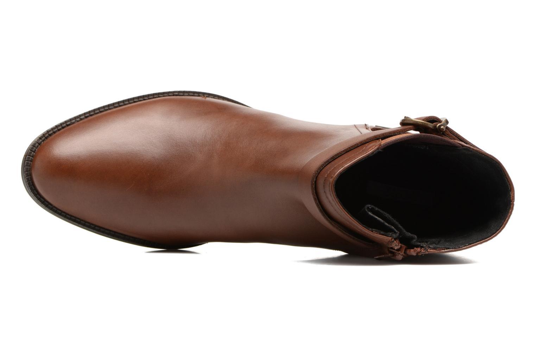 Stiefeletten & Boots Geox D Mendi Np Abx D D746SD braun ansicht von links